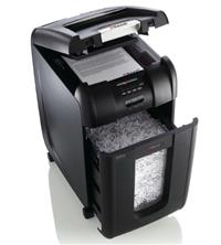 Rexel Auto Plus 300X Cross-Cut Shredder Open