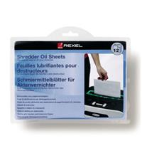Rexel Shredder Oil Sheets (Pack of 12)
