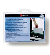 Rexel Shredder Oil Sheets (Pack of 20)