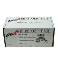 Safewrap 100 Litre Shredder Bags (Pack of 50)