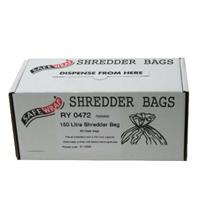 Safewrap 150 Litre Shredder Bags (Pack of 50)