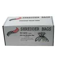 Safewrap 250 Litre Shredder Bags (Pack of 50)