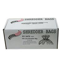 Safewrap 200 Litre Shredder Bags (Pack of 50)
