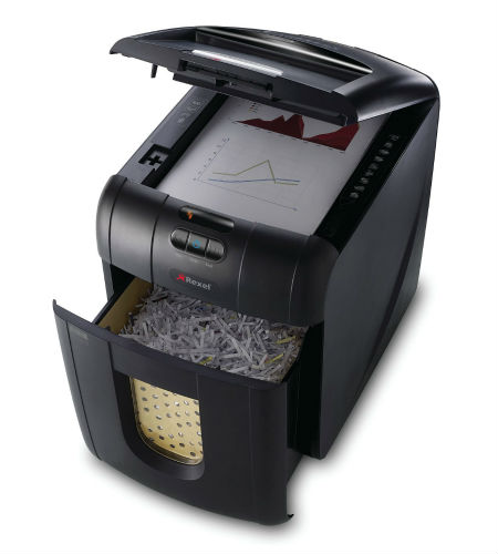 Auto-feed office shredder